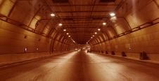 Free Highway Tunnel Royalty Free Stock Photography - 4953297