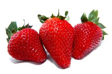 Free Three Strawberries Stock Photo - 4954060