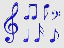 Free Music Symbol Stock Photo - 4954170