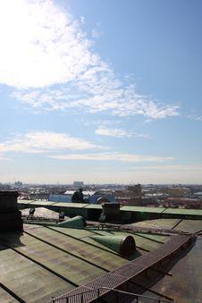 Panorama Of St.-Petersburg Stock Photography