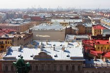 Panorama Of St.-Petersburg Royalty Free Stock Photo