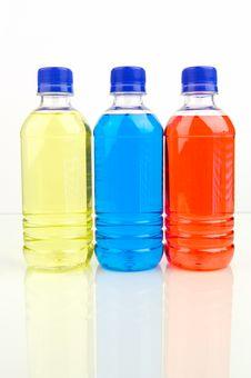 Sports Drinks Stock Image