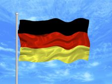 Free Germany Flag Stock Photo - 4954680