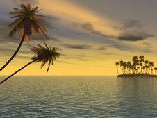 Free Small Island Stock Image - 4954821