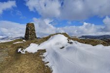 Free Brunt Knott Summit Royalty Free Stock Photos - 4954968