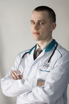 Free Young Doctor Royalty Free Stock Image - 4955016