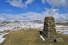 Free Brunt Knott Summit Royalty Free Stock Photo - 4955025