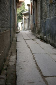 Free Little Alley Stock Image - 4955221