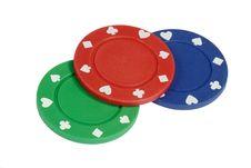Free Three Pokerchips Royalty Free Stock Image - 4955226