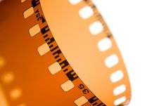 Free 35 Mm Film Strip Royalty Free Stock Photo - 4955375