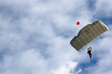 Free Parachutist Royalty Free Stock Images - 4956089