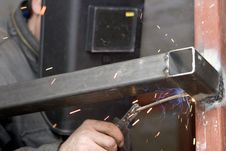 Free Welders At Work Stock Photography - 4956142