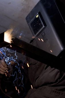 Free Welders At Work Royalty Free Stock Photography - 4956147