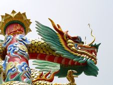 Oriental Dragon, Bangkok,Thailand Stock Photos
