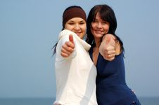Free Happy Friends Stock Photography - 4956722