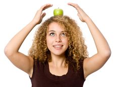 Free Apple On Head Royalty Free Stock Photo - 4957425