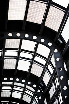 Free Terminal Glass Ceiling Stock Photography - 4958572
