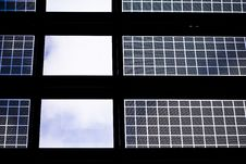 Free Wall Of Glass In A Terminal Royalty Free Stock Photos - 4958688