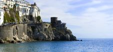Free Italian Town Of Amalfi Stock Photography - 4958832
