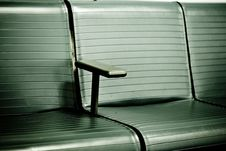 Free Waiting Area At An Airport Royalty Free Stock Photography - 4958837