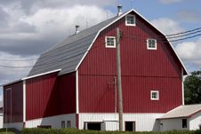 Free Barn Royalty Free Stock Image - 4959106
