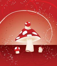 Free Mushroom Party Stock Image - 4959751