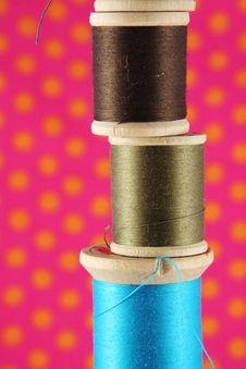Free Thread Spools Stock Photos - 4959773