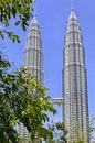 Free Malaysia, Kuala Lumpur: Petronas Towers Stock Photos - 4967333