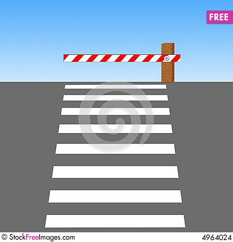 Line Drawing Of Zebra Crossing : Zebra crossing free stock photos images