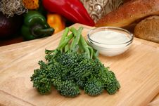 Free Baby Broccoli Stock Photos - 4960273
