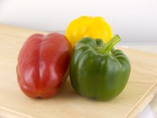 Free Three Peppers Stock Images - 4960994
