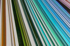 Colored Lines Blue Stock Photography