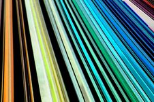 Colored Lines Blue Royalty Free Stock Image