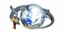 Free Dragon Royalty Free Stock Photos - 4962448