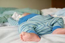 Free Sleeping Baby Royalty Free Stock Photos - 4962658