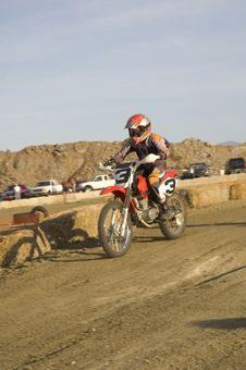 Free Dirt Bike Racer Royalty Free Stock Image - 4962726