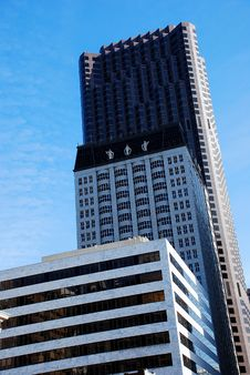 Free Three Tiered Modern Skyscapers Royalty Free Stock Images - 4962939