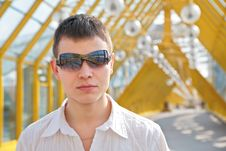 Free Young Man In Sunglasses Royalty Free Stock Photo - 4963035