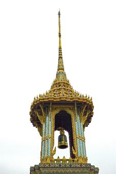 Temple S Bell At Grand Palace Stock Image