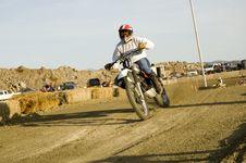 Free Dirt Bike Racer Stock Photos - 4963193