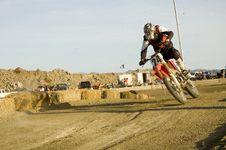Free Dirt Bike Racer Royalty Free Stock Image - 4963196