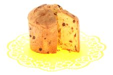 Cake With Raisins. Royalty Free Stock Photos