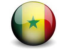 Free Round Flag Of Senegal Royalty Free Stock Photography - 4965017