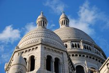 Free Sacre Coeur In April Royalty Free Stock Photo - 4966265