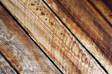 Free Old Wood Texture. Royalty Free Stock Photo - 4966345