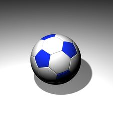 Free 3d Soccer Ball Royalty Free Stock Image - 4966356