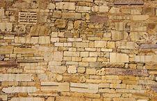 Free Stone Wall. Royalty Free Stock Photography - 4967117