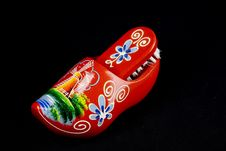 Free Red Shoe Brush Royalty Free Stock Photos - 4968818