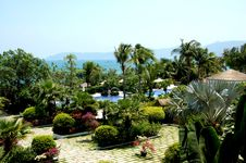 Free Paradise Garden In Hainan Island Stock Photo - 4969040