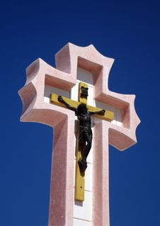 Free Stone Cross Stock Photos - 4969083